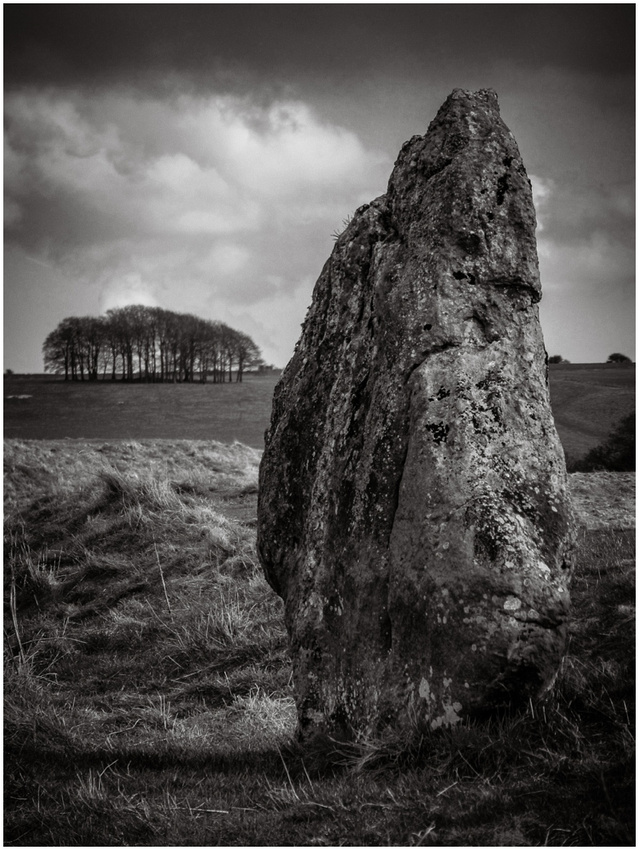 My favourite scene from Avebury, by Wiltshire based Wedding photographer, Barbara Leatham