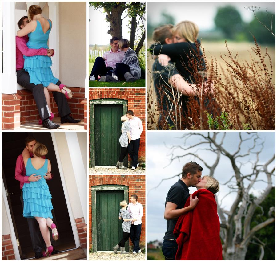 Pre wedding shoot with Nikki and Ashley MacDonald in Suffolk by Salisbury wedding photographer, Barbara Leatham